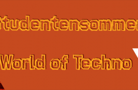 Flyer StuSo II World of Techno