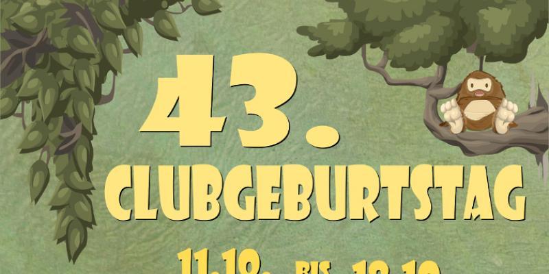 Plakat Clubgeburtstag 2015