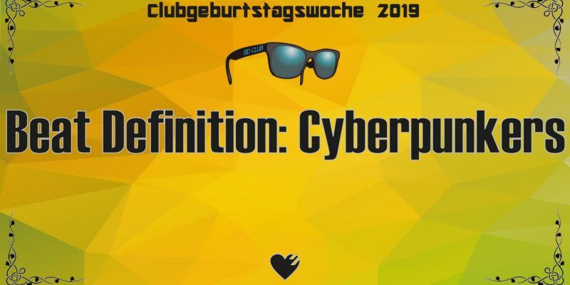 Flyer Beat Definition: Cyberpunkers