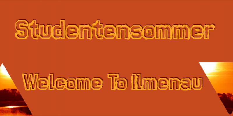 Flyer StuSo || Welcome to Ilmenau