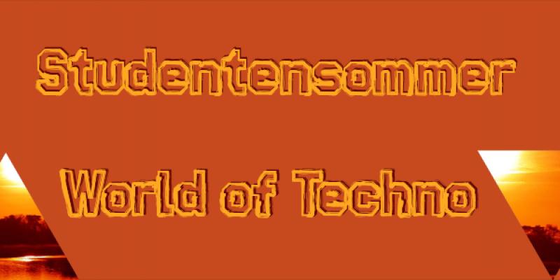 Flyer StuSo II World of Techno