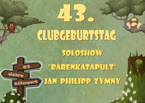 "Soloshow ""Bärenkatapult"" - Jan Philipp Zymny live! [14.10.15]"