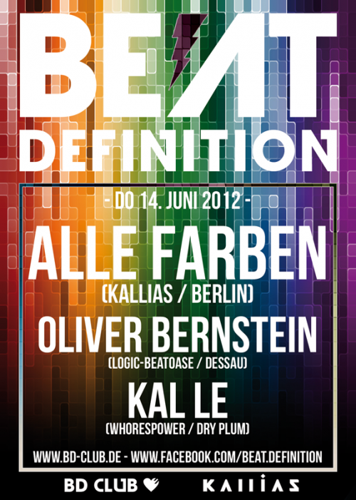 Beat Definition pres. Alle Farben (Kallias / Berlin) [14.06.12]