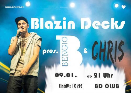 Blazin Decks pres. Bengio & Chris [09.01.14]