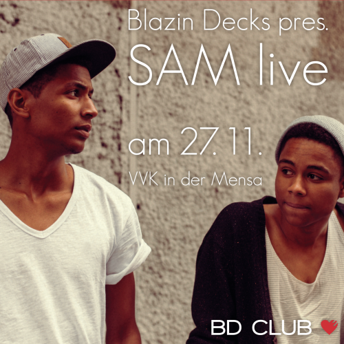 "Blazin Decks pres. ""SAM"", ""Yo-C"" & ""LyHo""  [27.11.12]"