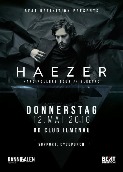Flyer Beat Definition pres. Haezer