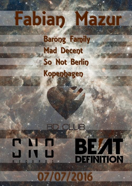 Flyer Beat Definition pres. Fabian Mazur