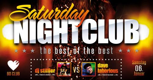 Flyer Saturday Nightclub // the best of the best