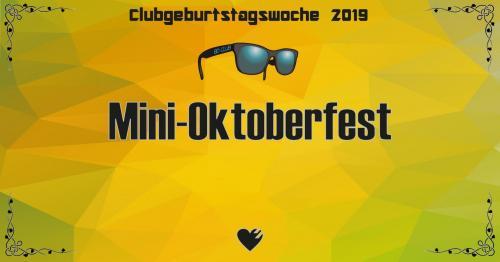 Flyer Mini-Oktoberfest