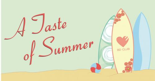 Flyer A Taste of Summer