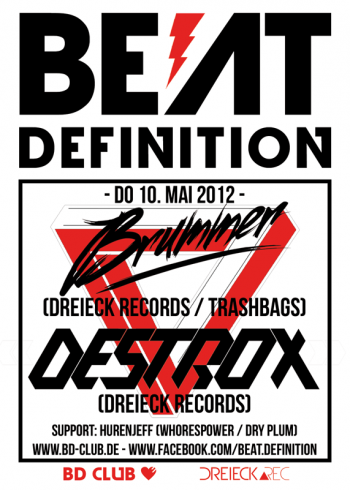 [B]eat [D]efinition pres. Brummer & Destrox (Dreieck ∆ Records) [10.05.12]