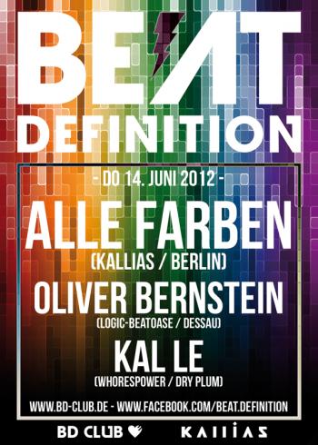 Beat Definition pres. Alle Farben (Kallias / Berlin) [14.06.12]