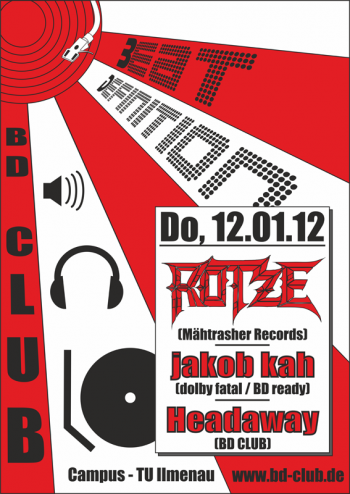 [B]eat [D]efinition pres. Rotze (Mähtrasher Records) [12.01.12]