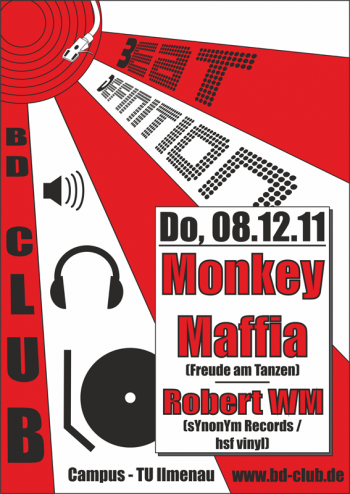 [B]eat [D]efinition pres. Monkey Maffia (Freude am Tanzen) [08.12.11]