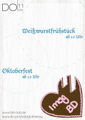 CGW | Oktoberfest mit Blaskapelle  [11.10.12]