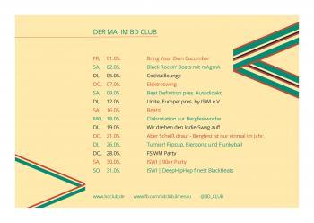 Was geht in Ilmenau im Mai? Hier findet ihr eure Party-Infos!