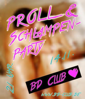 Proll- und Schlampenparty am 14.11.2013
