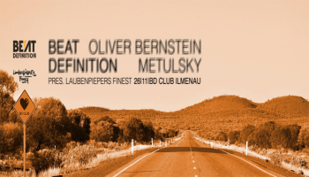 Flyer Beat Definition pres. BERNSTEIN & METULSKY