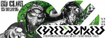 Flyer CGW | Beat Definition pres. CYBERPUNKERS
